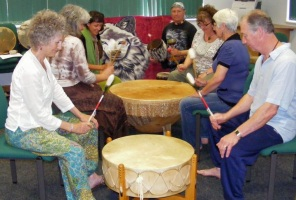 Learn to Drum up wellbeing - Native American Style Drumming & Dancing Workshops Cambridge, Cambridgeshire U.K.